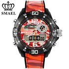Sport Watches Men Dual Time Camouflage Military Army LED Digital Wristwatch 5ATM