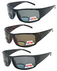 POLARIZED MENS WOMENS BIFOCAL SUNGLASSES READING SUN GLASSES WRAP UV400