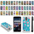 "For LG Stylo 3 Plus Stylo 3 Stylus 3 5.7"" Studded Bling HYBRID Case Cover + Pen"
