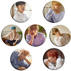 2 PCS Fashion Pop BTS Love Yourself Round Badge Bullet Proof Cadet Corps Fun