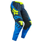 FOX RACING YOUTH KIDS MOTOCROSS MX 180 PANTS BLUE YELLOW child quad bike trouser