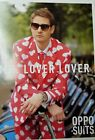Oppo Suit Lover Lover Hearts Costume Jacket Tie Pants Prom Party Valentines Day