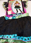 Skully Sweetie Witch Girls Dress Costume S M L XL NIP