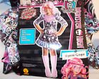 Monster High Viperine Gorgon Frights Camera Action Child Costume S M L NIP