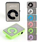 1-8gb Mirror Clip Metal Usb Mp3 Player Music Media Player Support Tf Card Hot