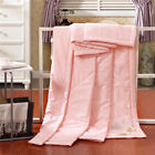 Home Textile Solid Washable Soft Bedspread Double Bed Air Condition Summer Quilt
