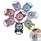 Cool Lovely Mini Cartoon Dial Number Round Desk Alarm Clock CA
