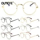 Retro Round Eyewear Glasses For Women Transparent Eyeglasses Frame Fake Glasses