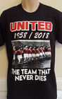 MANCHESTER UNITED BUSBY BABES 60TH ANNIVERSARY T-SHIRT(BLACK)