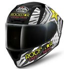 Airoh Valor Rockstar Energy Motorcycle Motorbike Full Face Bike Crash Helmet
