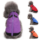 Small Dog Cat Coat Jacket Pet Warm Clothes Winter Harness Vest Apparel UK Stock