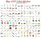 Kyпить ☀️NEW! Lego PICK YOUR WEAPON Lot Swords Guns Axe Knife Knights Agents Ninjagos на еВаy.соm