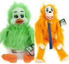 ORVILLE THE DUCK CUDDLES THE MONKEY PLUSH TOY OFFICIAL RETRO 80S TV KEITH HARRIS
