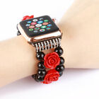 girly Agate Beads Bracelet Watch Band Strap for Apple Watch Series 1 2 3 42/38mm