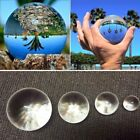 50-100mm Pure Clear Magic Crystal Glass Healing Ball Sphere Photography Props