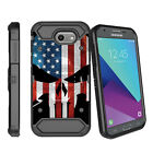For Samsung Galaxy J3 Emerge   Luna Pro (2017) Holster Clip Case with Kickstand