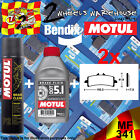 2x BENDIX 341-MF & DOT 5.1 & P2 BRAKE PADS FLUID CLEANER FITS MOTORCYCLES LISTED