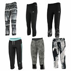 Adidas Performance 3/4 Damen Sports Trousers Tracksuit Bottoms Capri Pants