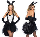 Adult size Black Tux & Tails Bunny Costume - Hefner Playb...
