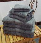 Charcoal Cotton Bobble Towels Face, Hand, Bath Towel & Bath Sheet Available