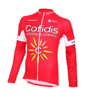 COFIDIS ORBEA Pro Team Full Zip Long Sleeve Cycling Jersey by Nalini