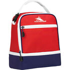 High Sierra Stacked Compartment Lunch Bag 26 Colors Travel Cooler NEW
