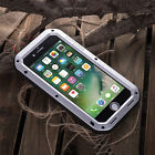 LOVE MEI Military Shockproof Gorilla Glass Metal Back Case Cover For Cell Phones