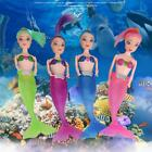 Pro LED Swimming Luminous Mermaid Doll Shower Waterproof Bath Pool Toy SY#01
