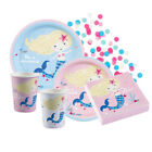 BE A MERMAID Birthday PARTY NEW Tableware Balloons Decorations Supplies