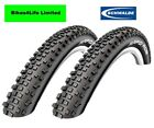 Schwalbe Rapid Rob 29 x 2.25 MTB Tyres Mountain bike Cycle Tires Tubes Option