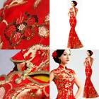 Hot Products  Classic Cheongsam Long Wedding Dress Women Dress Evening Dress