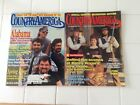 COUNTRY AMERICA MAGAZINE, 2 DIFFERENT ISSUES, COUNTRY LIFE & ENTERTAINMENT