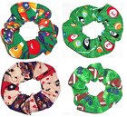 Hair Scrunchie Pool Balls Billiards Bowling Cards Casino Scrunchies by Sherry $13.95 USD on eBay