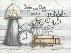 Art Print, Framed or Plaque by Mary Ann June - Grateful Heart - MARY505