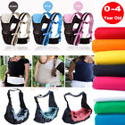 baby carrier for newborn - Newborn Baby Infant Sling Carrier Ring Wrap Adjustable Soft Nursing Pouch Front