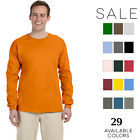 Gildan Mens Ultra Cotton 6 oz. Long-Sleeve T-Shirt G240 Size S-5XL