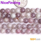 "6,8mm Natural Round Ruby Quartz Semi Precious Stone Beads Jewelry Making 15"" NF"