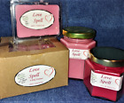**NEW** Hand Poured Feminine Scents Soy Candles Tarts & Votives - Love Spells
