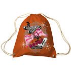 Trend Bag Gym Bag Sports Bag Backpack with Print Country Music 65301 Orange