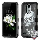 For LG Rebel 3 LTE L158VL Hybrid TUFF IMPACT Phone Case Hard Rugged Cover