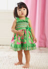 Mud Pie Baby PLEATED RUFFLE SUN DRESS 167618 Little Sprout Collection