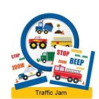 Traffic Jam Range Tableware Balloons Decorations Supplies - CP