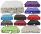 100% Cotton Adult Chunky Booster Cushion Plain Seat Pads Chair Square Armchair
