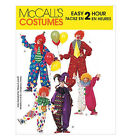 Sew & Make McCall's 3306 SEWING PATTERN - Family CIRCUS CLOWN JESTER Costumes