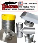 Smooth Wall Chimney Liner Kit (2 Ply .013 316 Liner) Various Sizes Available