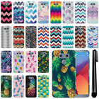 For LG G6 H870/ G6+ Plus US997 Slim HARD Protector Back Case Phone Cover + Pen