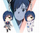 DARLING in the FRANXX 02 ICHIGO Acrylic Keychain Pendant Bag Cell Phone Charms