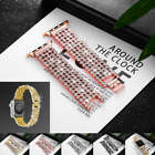 Luxury Lady Bling Rhinestone Metal Wrist Band For Apple Watch iWatch 38 / 42 mm