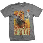 Star Wars Solo Han Chewie Co Pilot Chewbacca OFFICIAL Unisex T-Shirt 15F £11.95 GBP on eBay