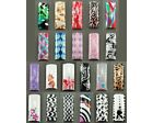50pcs Pre-Designed Air Brushed Nail Tips 10 sizes with Glue - Selection B